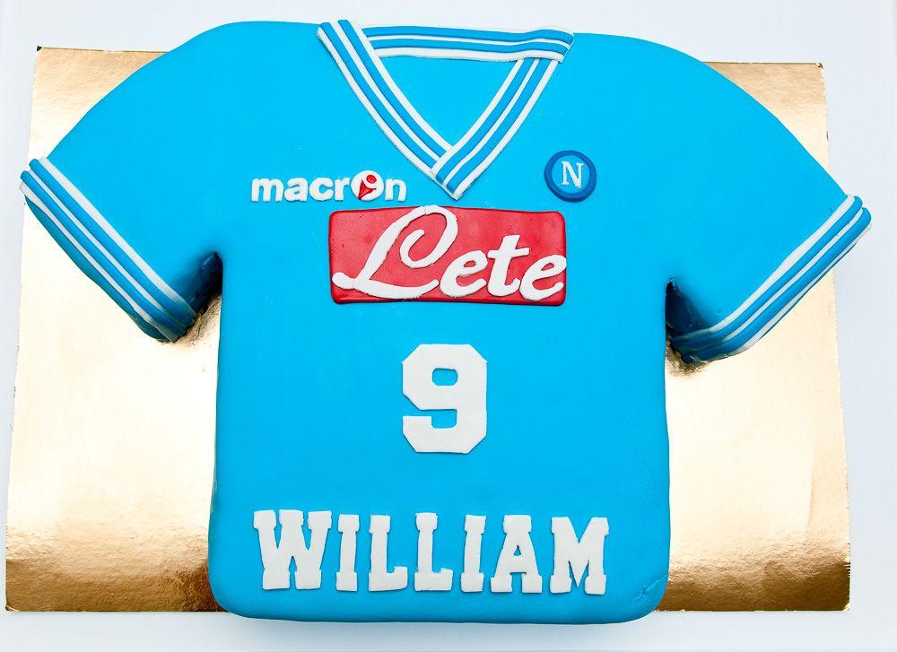vendita a buon mercato usa la migliore vendita metà fuori Napoli #Football #T-shirt #Cake <3 by Baking with Love ...