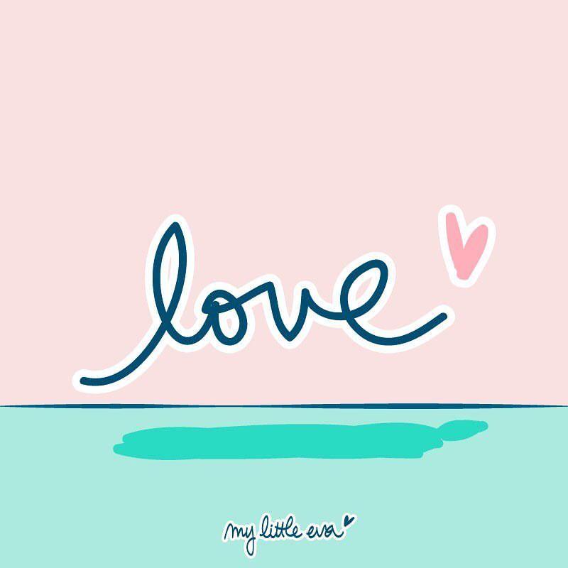 Journée sous le signe de l'amouuuuur ❤️ Avec Mikko on vous souhaite une bonne #SaintValentin ! #amour #illustration #sketch #dessin #art #desing #valentine #valentines #love #tequiero #iloveyou #amor #cosasbonitas #quote #kawaii #handwriting #typography #heart #corazon #coeur #pink #rose #mint #mintgreen #mylittleeva
