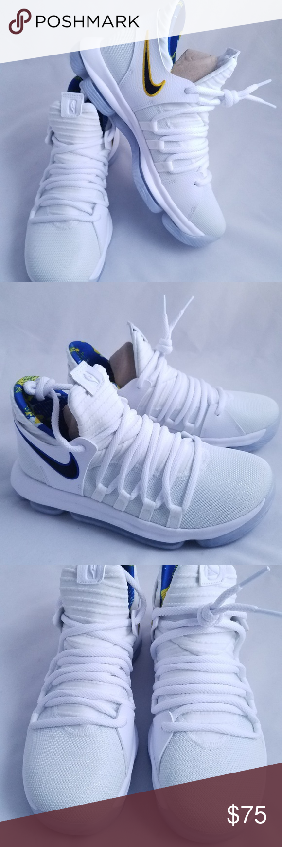 New Nike KD 10 NBA Golden State limited