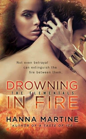 Book Review: Drowning in Fire by Hanna Martine | I Smell Sheep