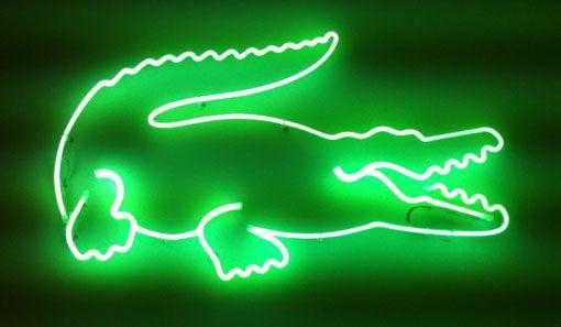 Neon  Lacoste   Lacoste   Lacoste, Neon Signs, Neon 42a8ed1c34