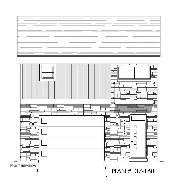 Carriage House Plans, Shed Roof Design