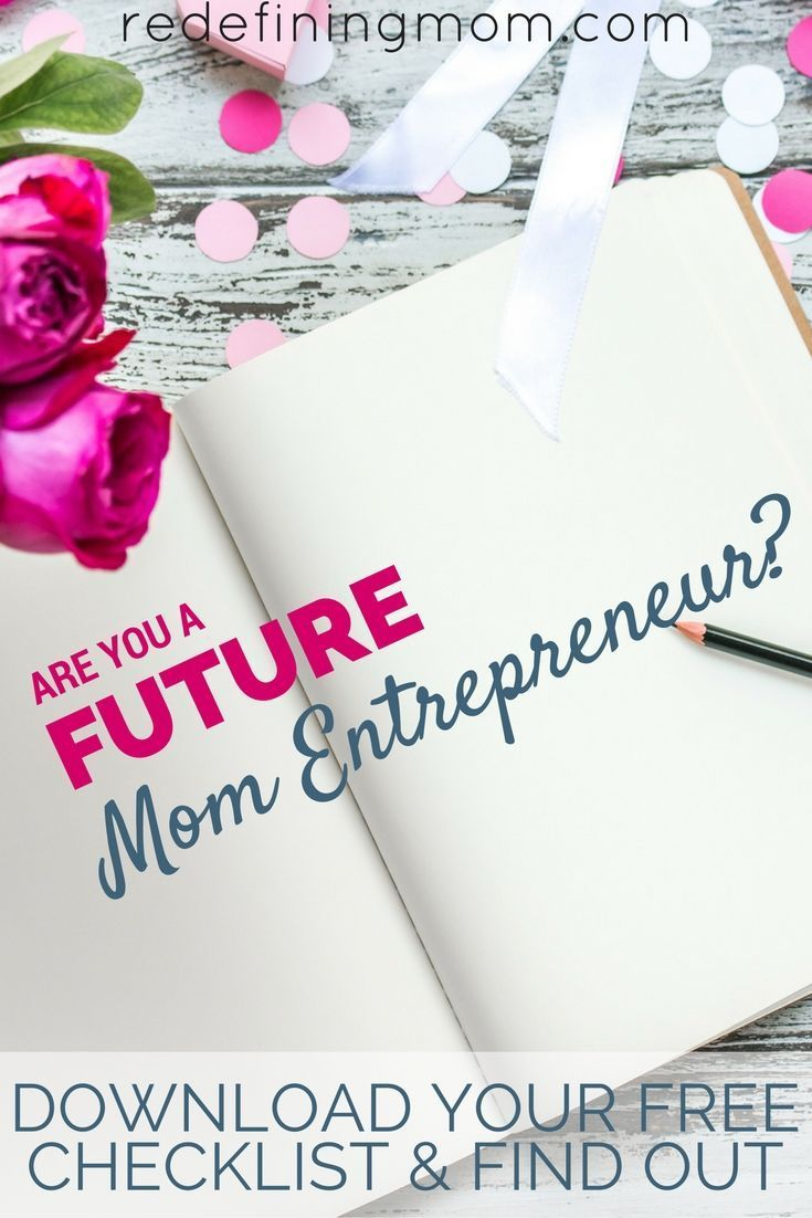 4 Questions for a Future Mom Entrepreneur | Future mom, Business and ...