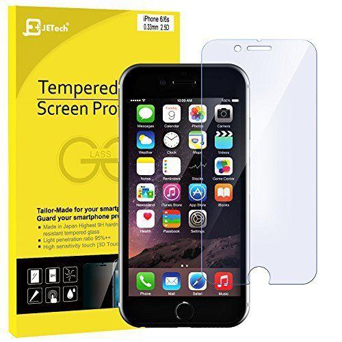 JETech iPhone 6s Protection écran …: Conception spéciale de brevet : Eye Protection anti-éblouissement Matte la vitre pour écran agit de…
