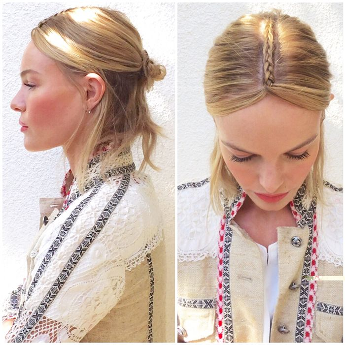 Hairstyles Games Festival Queen Nails This Do#katebosworth #beautyoffduty  Make Up