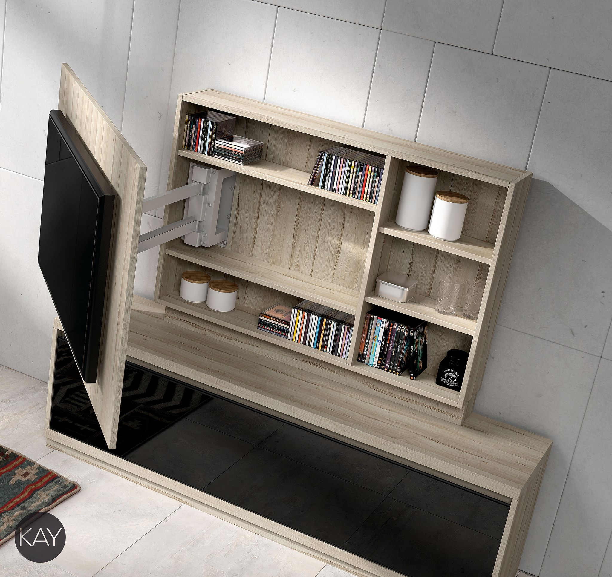 50 Cool Tv Stand Designs For Your Home Tv Stand Ideas Diy Tv  # Muebles Fiasini