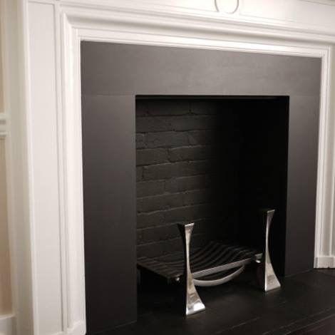 Black Slate Fireplace Surround Fireplace Pinterest Slate