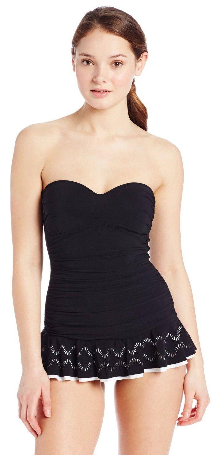 0c1eae3e04 Profile by Gottex Women's Shirred Princess Swim Dress. | Summer Yet ...
