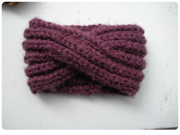 Free Pattern Knit Turban Headband Home Crafts