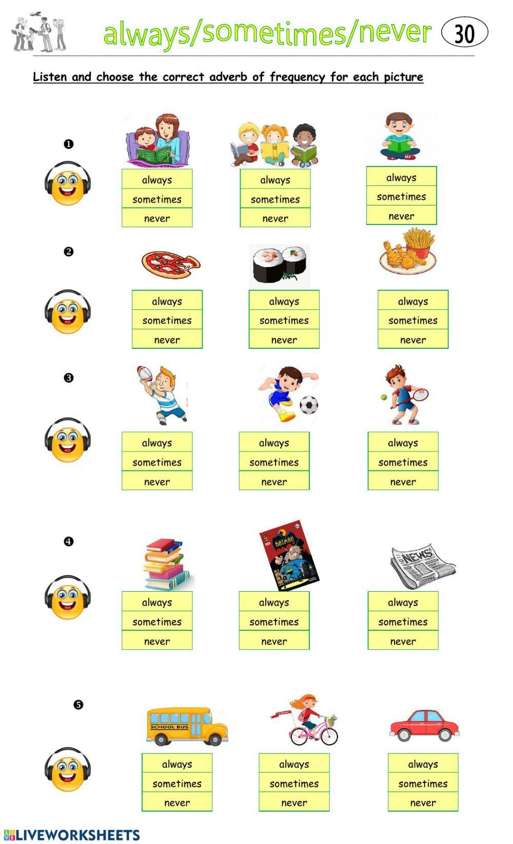 4 30 Interactive Worksheet Worksheets English As A Second Language Esl English As A Second Language [ 1643 x 1000 Pixel ]