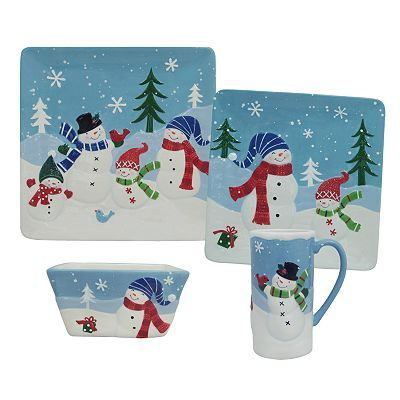 Kohls Christmas Dishes.Let It Snow Dishes From Kohl S Christmas Help Holiday