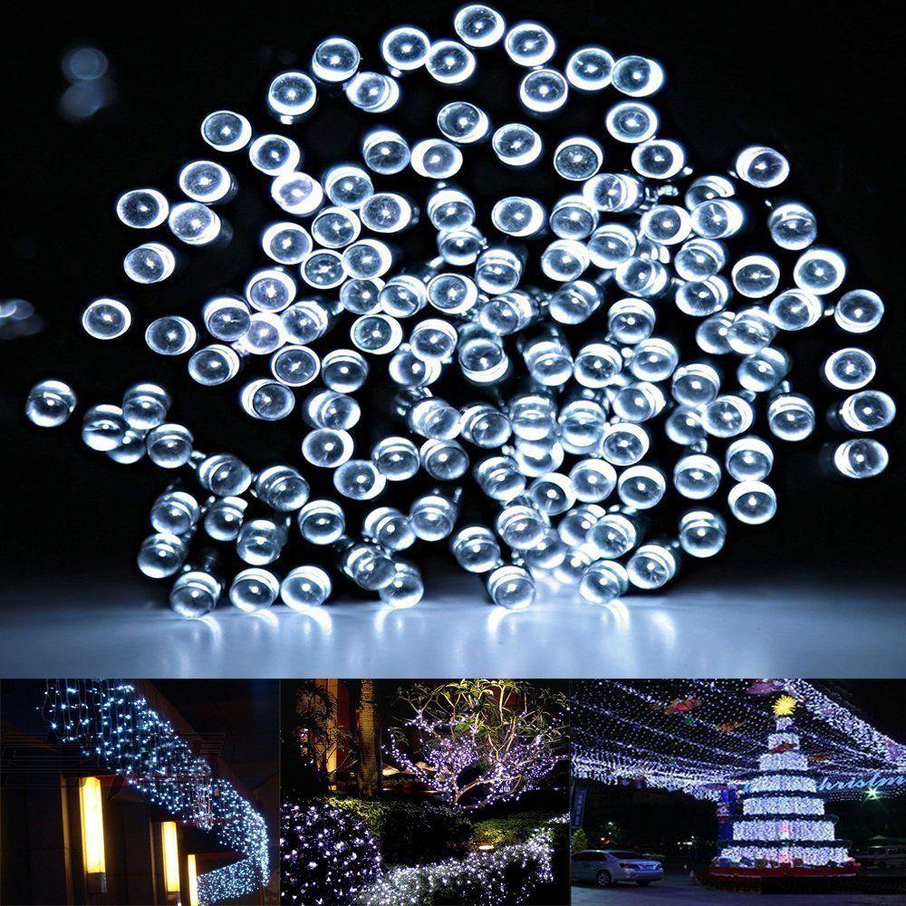 Solar Led String Lights Outdoor Interesting Summer Solar String Lightsfirstlights 100 Led Warm White 39 Feet