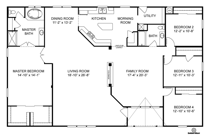 Clayton Homes Home Floor Plan Manufactured Homes Modular Homes Mobile Home Modular Home Plans Barndominium Floor Plans Mobile Home Floor Plans