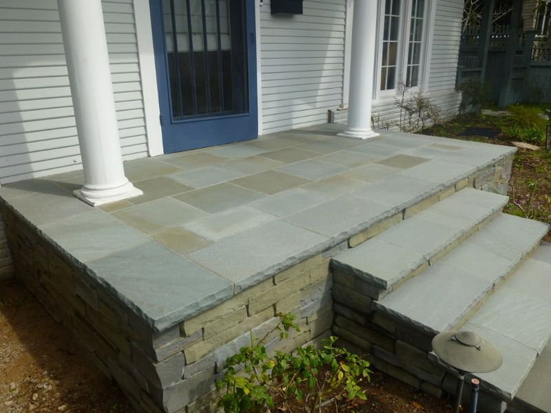 Bluestone porch google search front porch porticos for Bluestone porch