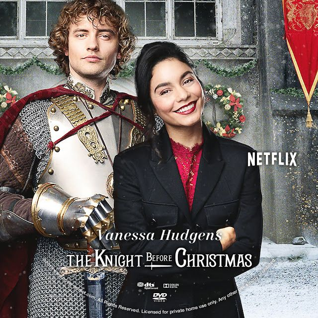The Knight Before Christmas Dvd Label The Knight Before Christmas Christmas Dvd Dvd Label