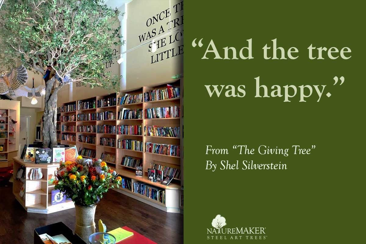 Visit Our Oak Tree Installation If You Re In San Francisco This Weekend At Charlie S Corner A Neighborhood Bookstore For Ever Steel Art Nature Photos Bookstore