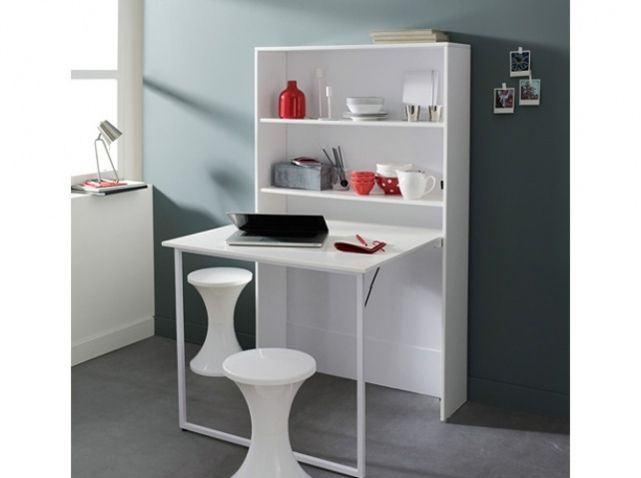 Des meubles astucieux et sympas pour votre studio - Table pliante pour studio ...