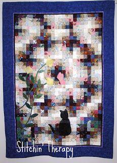 Terapia Stitchin ': Aguarela Quilts