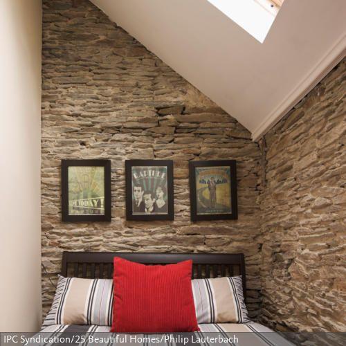 bettnische mit dachfenster kleine r ume pinterest. Black Bedroom Furniture Sets. Home Design Ideas