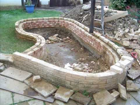 How to build a garden fish pond garden structures for Making ponds for a garden