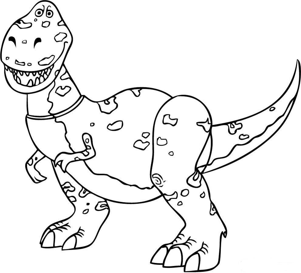 Toy story dinosaur coloring pages - How To Draw Rex From Toy Story Coloring Pages How To Draw Rex From Toy Story Coloring Pages