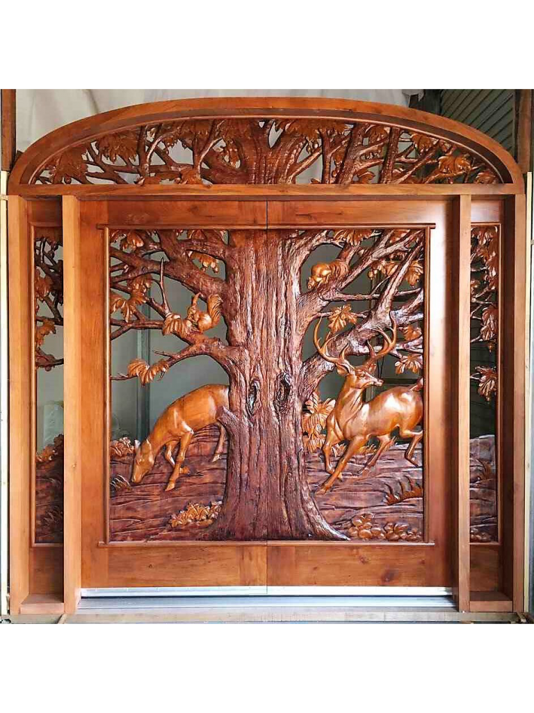 Hand Carved Wood Door Eh5002 Monarch Custom Doors Wood Doors Wood Entry Doors Carved Doors