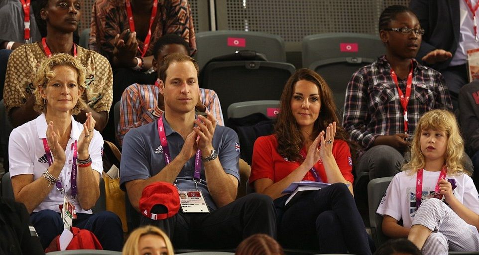 Premier jour des Jeux paralympiques en présence du Duc et la Duchesse de Cambridge la Comtesse Sophie de Wessex et sa fille Lady Louise Windsor - PRINCESS MONARCHY