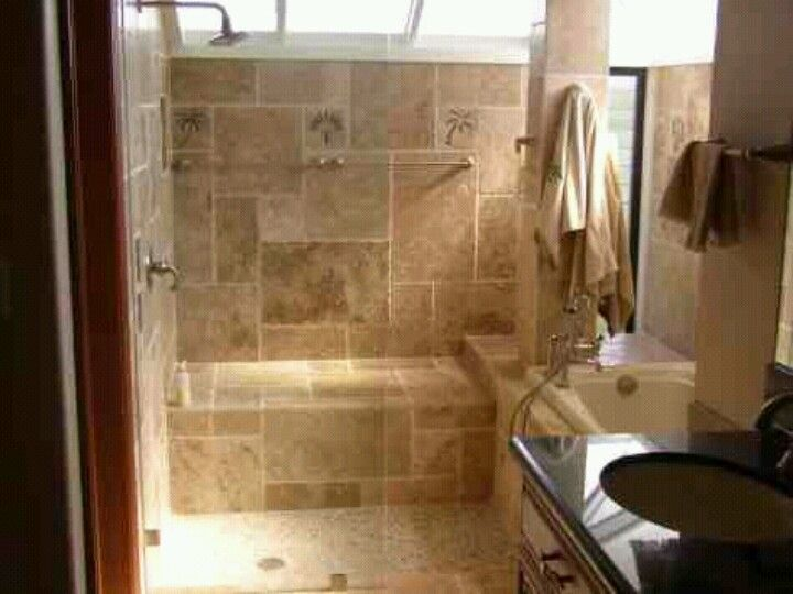 Sit down shower with bathtub | BATHROOM | Pinterest | Bathtubs
