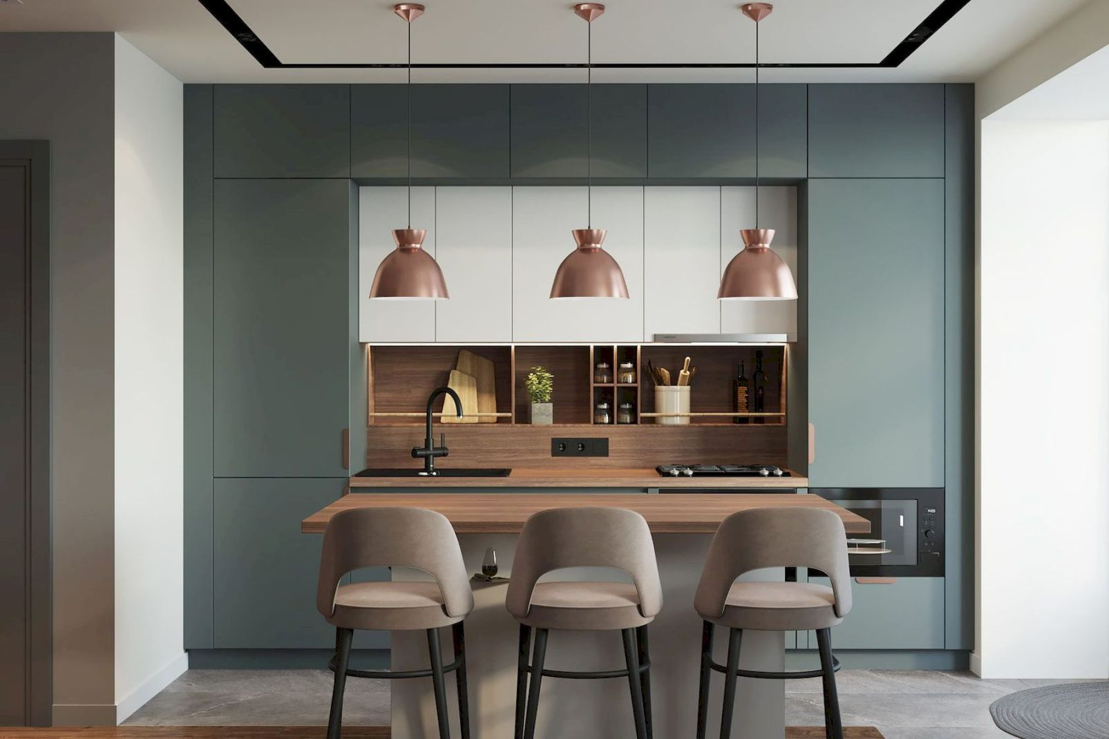 30+ Minimalist But Luxurious Kitchen Design - jihanshanum ...