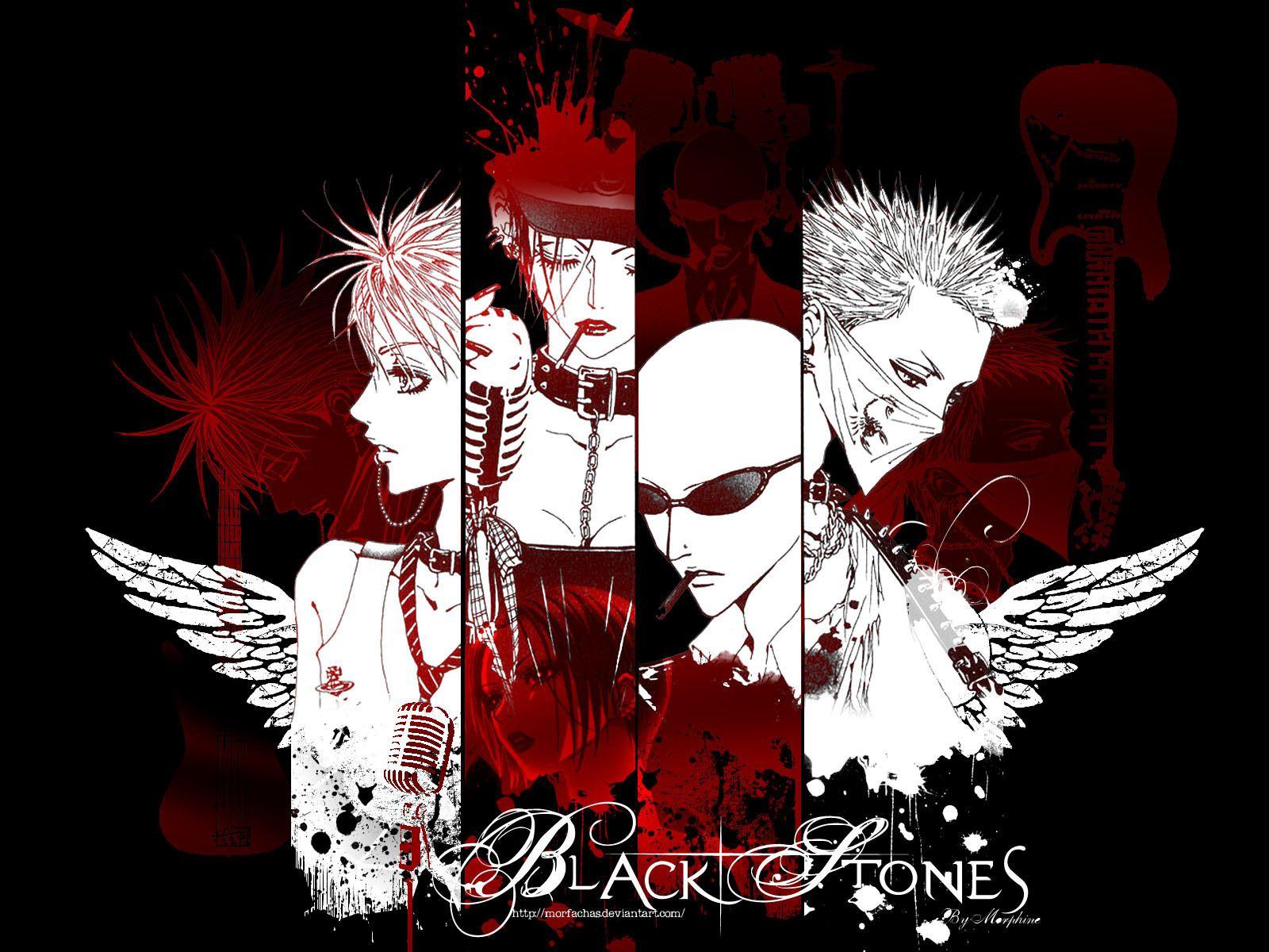 Black Stones Nana Wallpaper