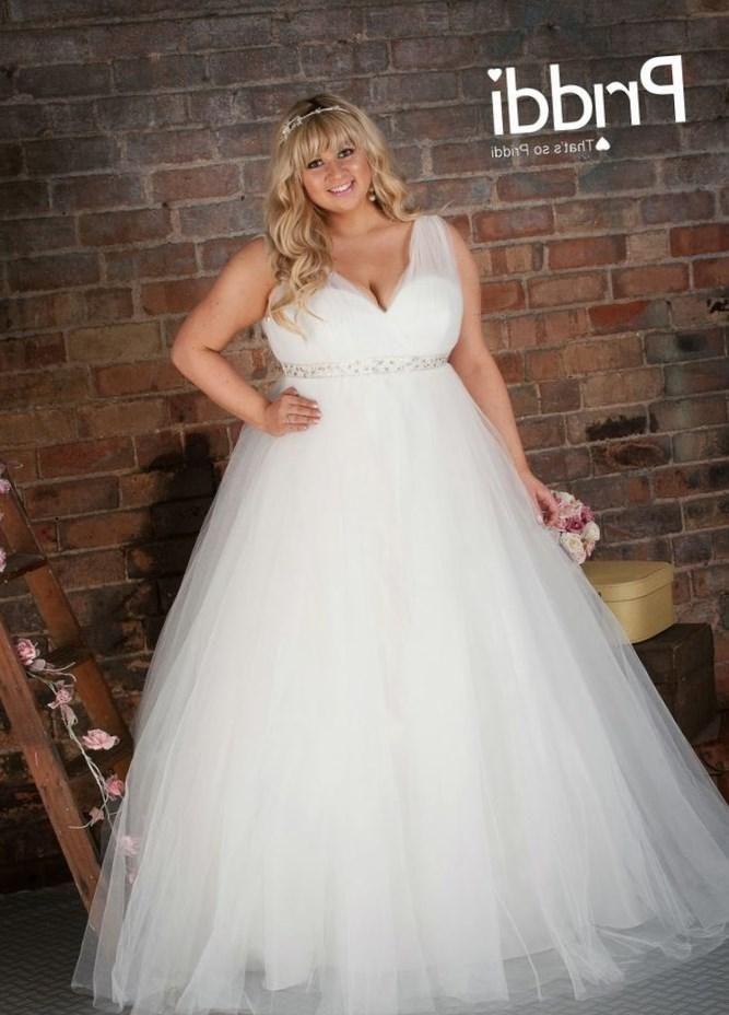Plus size ball gown wedding dress - http://pluslook.eu/dresses/plus ...