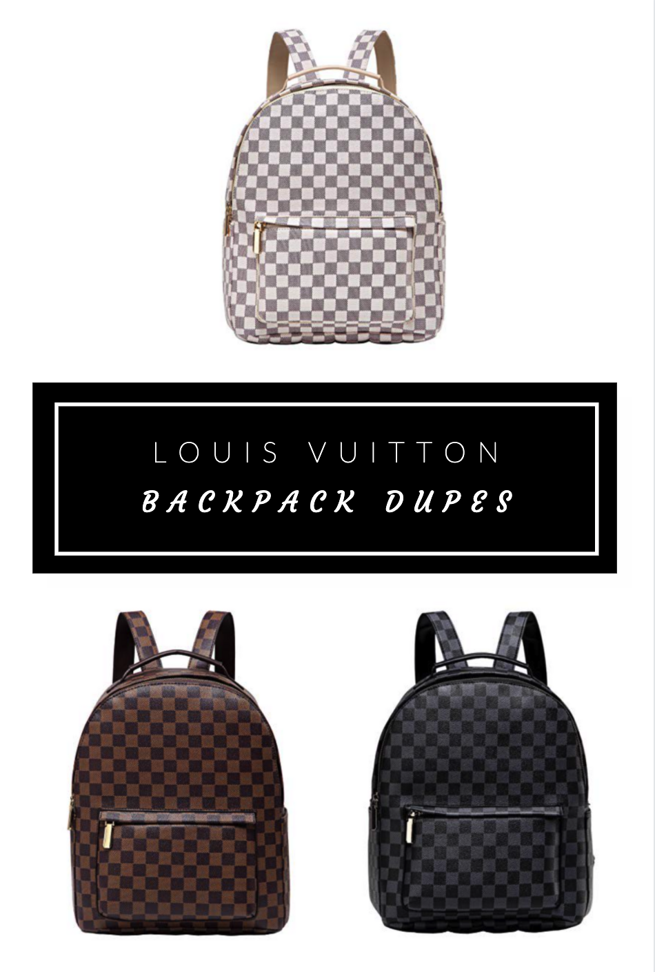 Louis Vuitton Backpack Dupes Under $40