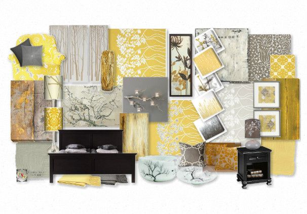 For Jan Issues Fehlis Rahim Bringolf Yellow And Grey Patterns
