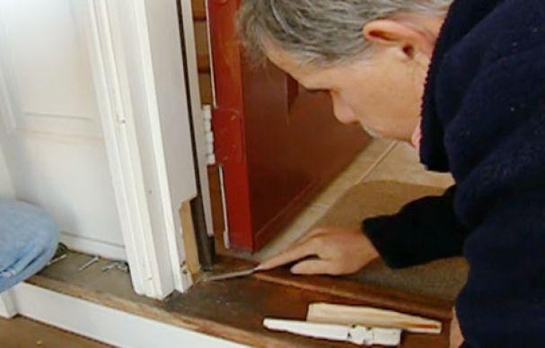 How To Repair A Split Door Jamb Wood Doors Interior Split Door Interior Barn Doors