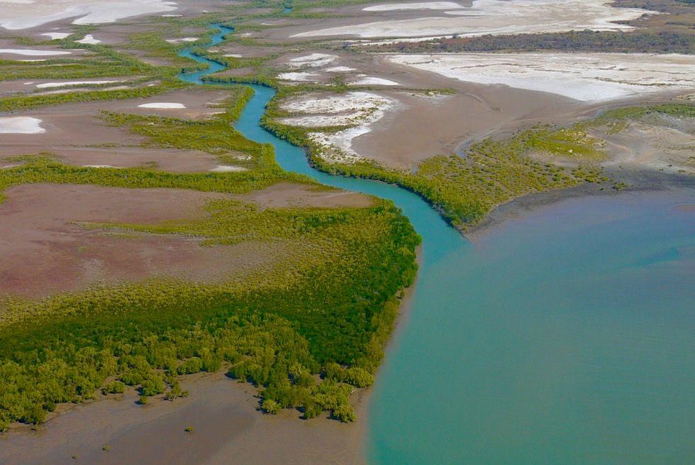 Joseph Bonaparte Gulf - Flussmündung & Schwemmlandschaft - Kimberley Küste - Western Australia