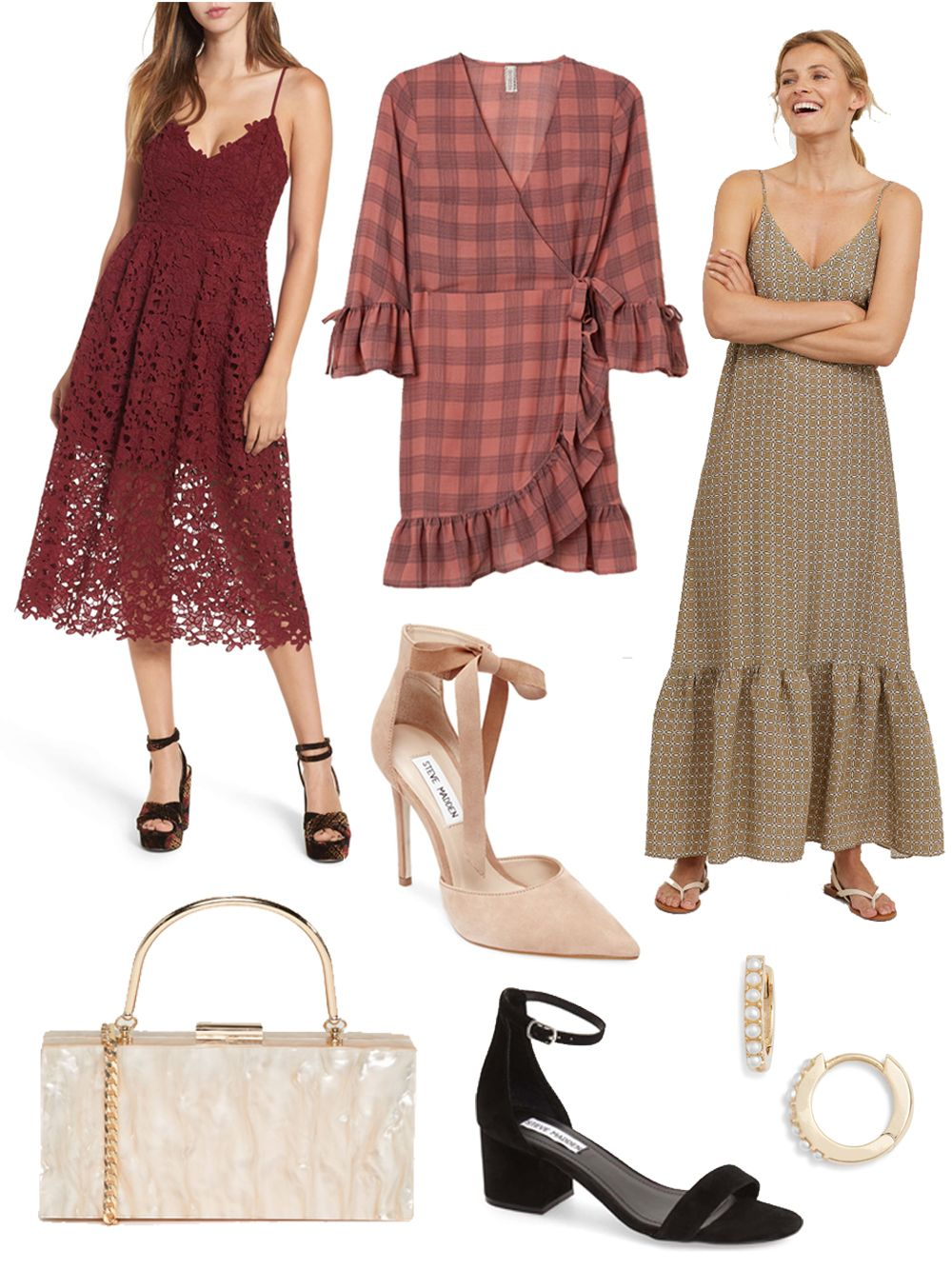 Fall Wedding Guest Dresses For Every Budget The Freckled Life Maxi Dress Wedding Guest Fall Wedding Guest Dress Fall Wedding Guest [ 1334 x 1000 Pixel ]