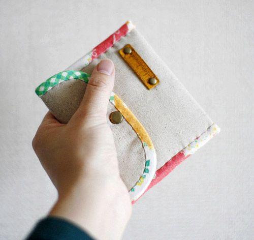 Geldbörse DIY-Tutorial in Bildern. Was für eine nette und einfache ...