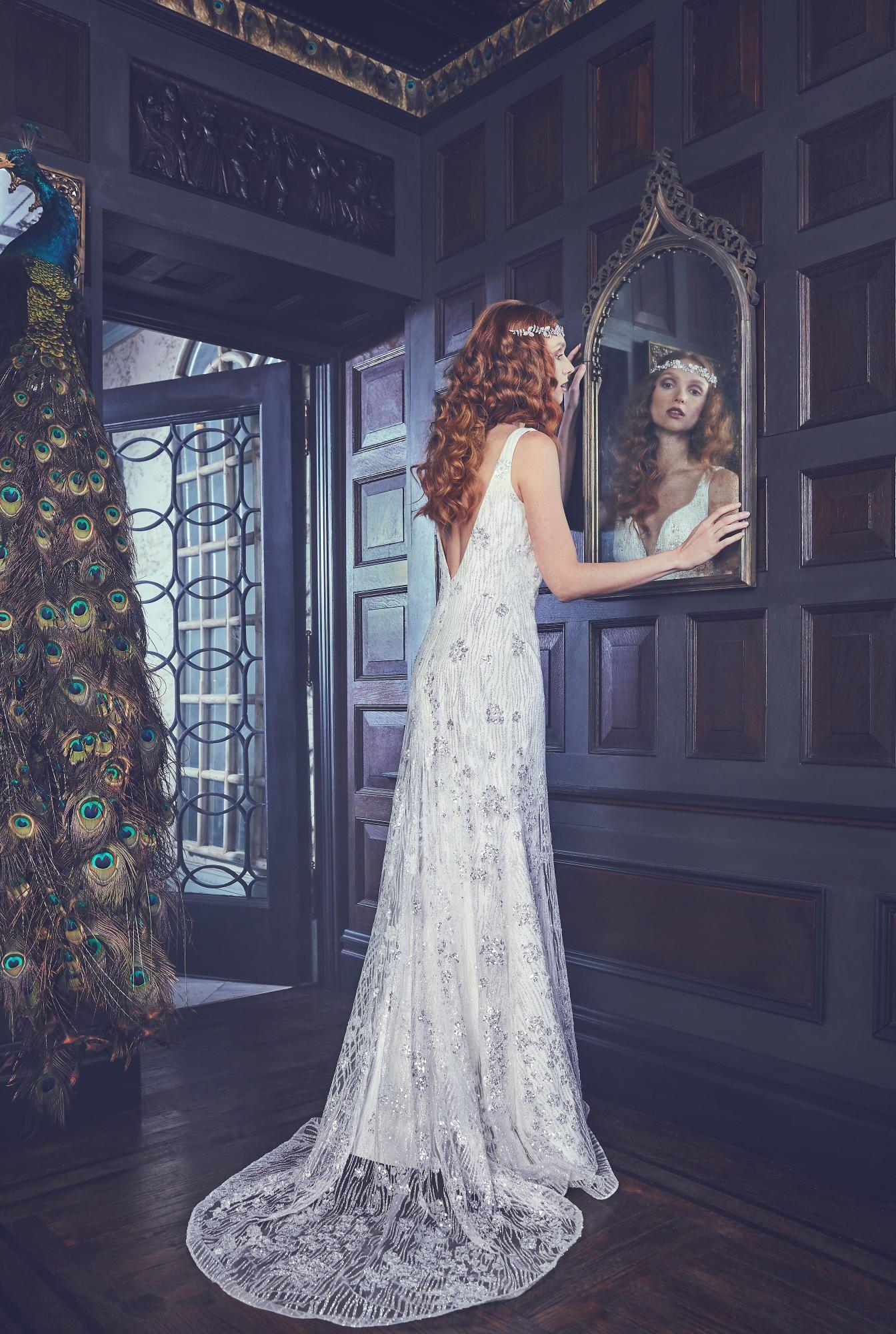 A look from the Sareh Nouri Collection spring 2018 bridal collection. Photo: courtesy
