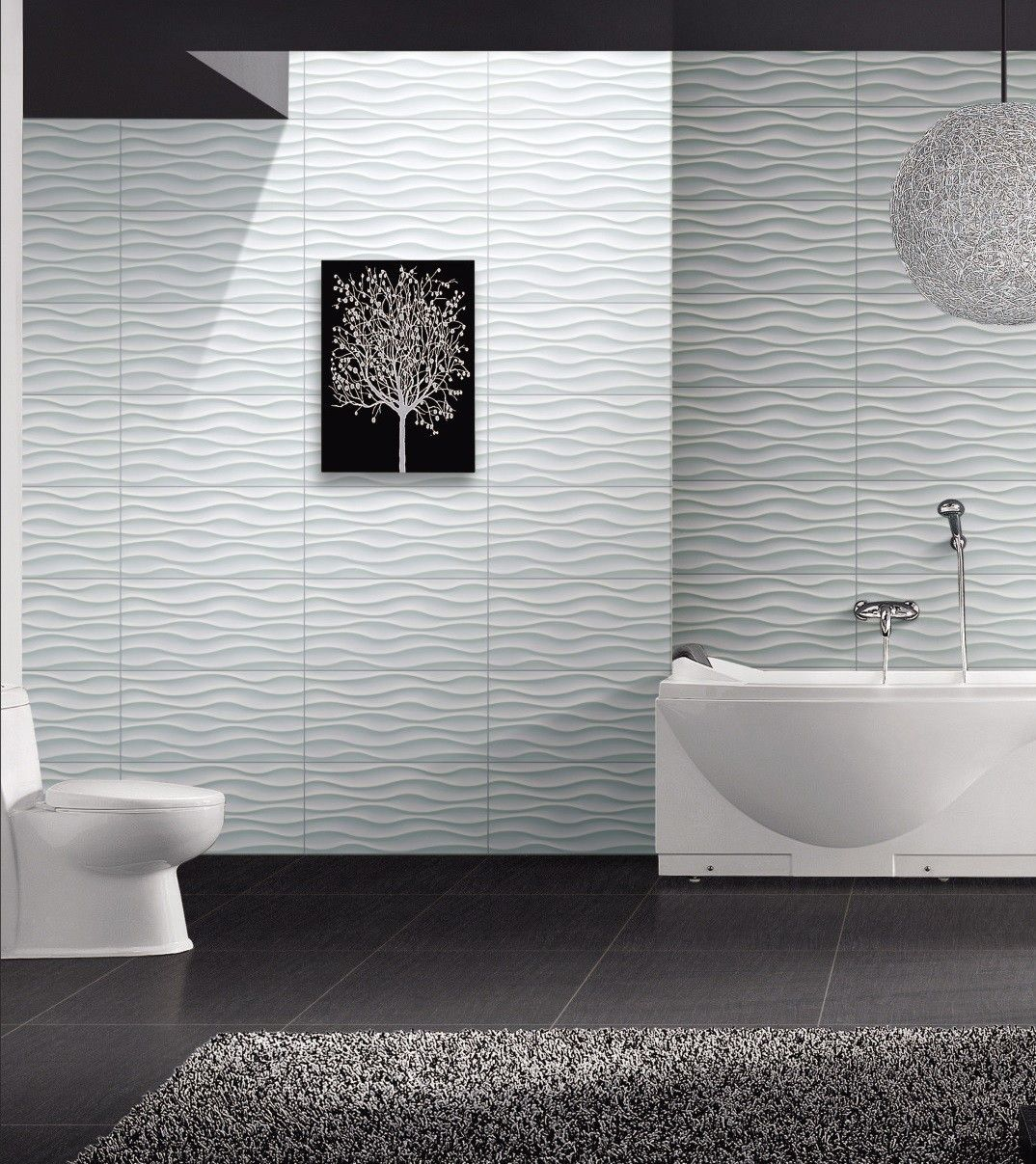 I'm Dreaming of a White Tile | Tile bathroom, Contemporary ...