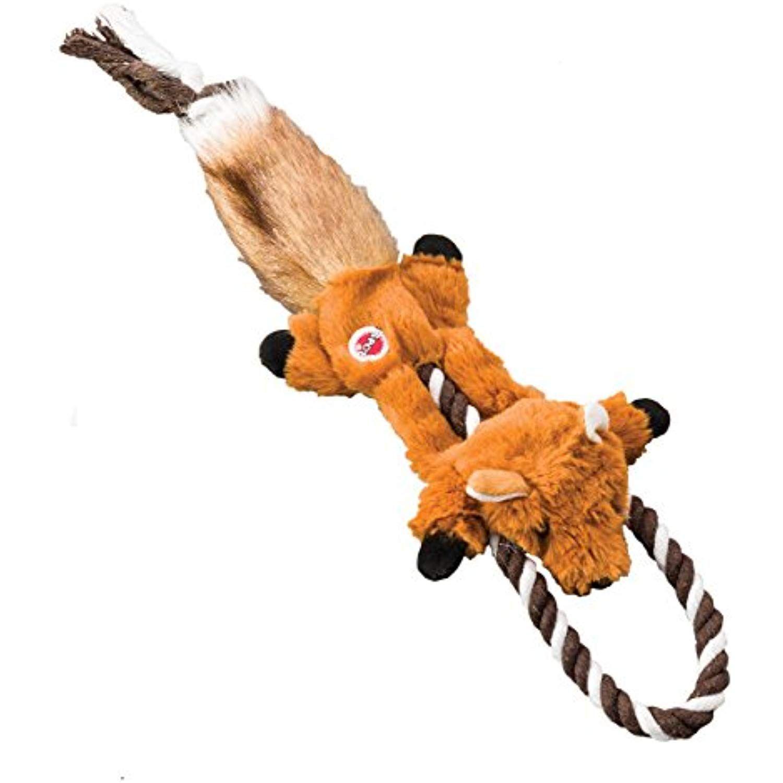 Ethical Pets Fox Mini Skinneeez Tugs Dog Stuffingless Toy 14