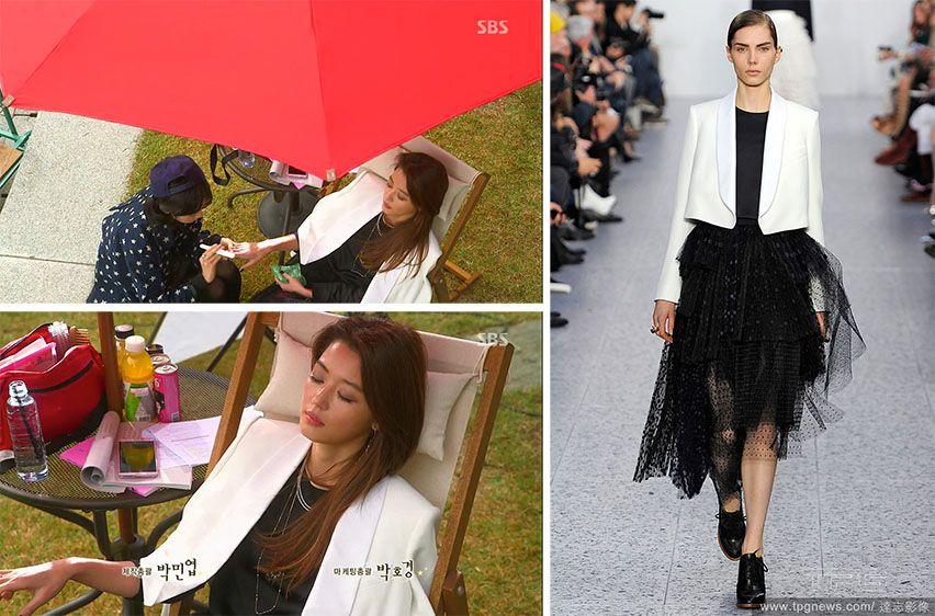 Jun Ji-hyun (Gianna) / Cheon Song-yi fashion Chloé 2013 F/W