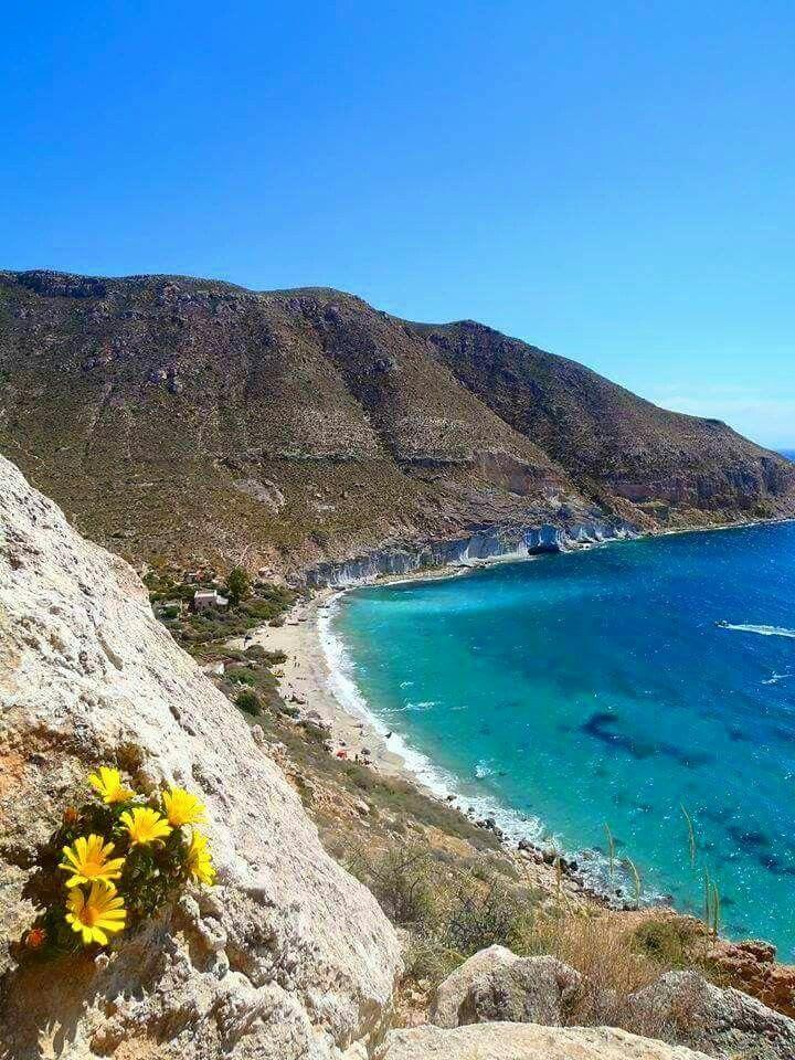 Cala De San Pedro Cabo De Gata Almería Spain Cabo De Gata Almeria Cabo De Gata Paisajes