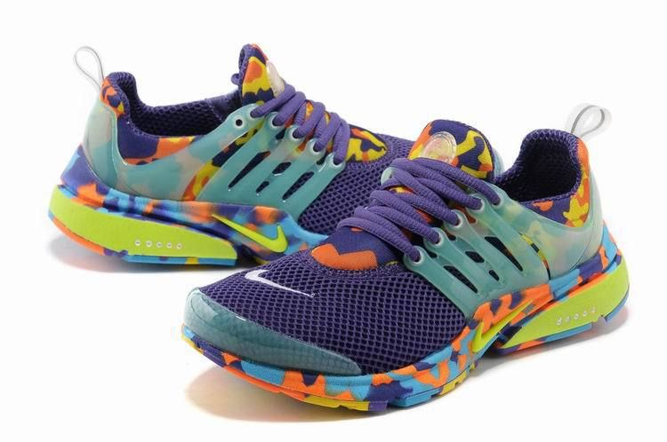 New Nike Air Presto 1 Camo Light Green Yellow Green Sport Shoes