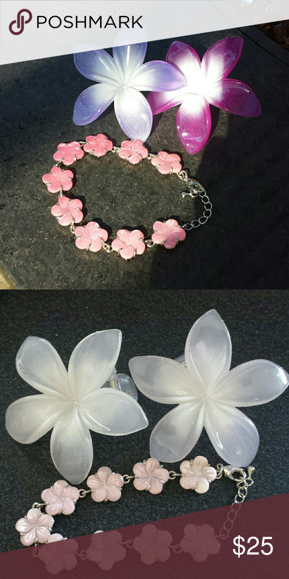 Del Sol Uv Color Changing Bracelet Hair Clips Judys Jewelry