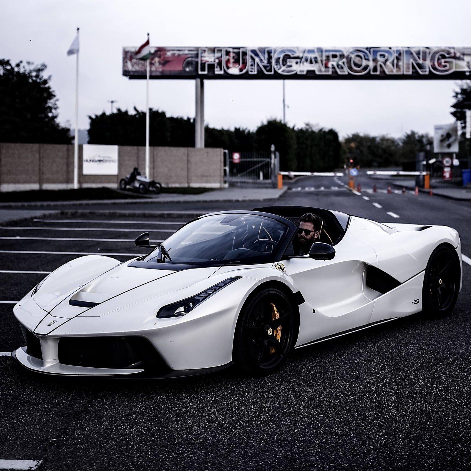 Josh Cartu S White Laferrari Aperta Is Simply Breathtaking Carscoops Ferrari Ferrari Laferrari Josh Cartu