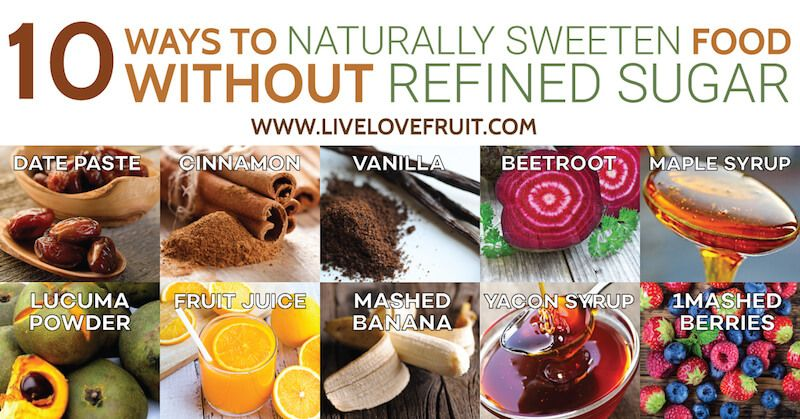 diet without refined sugar