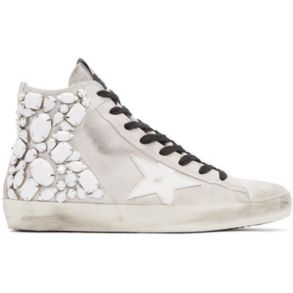 Francy Zip-Up High Top Sneakers Golden Goose Fnndu4em