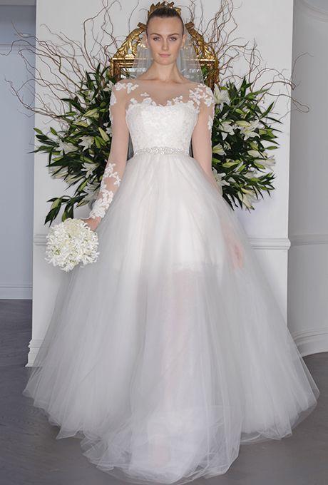 Perfect Brides: Legends By Romona Keveza Wedding Dresses   Fall 2016   Bridal  Runway Shows   Brides.com