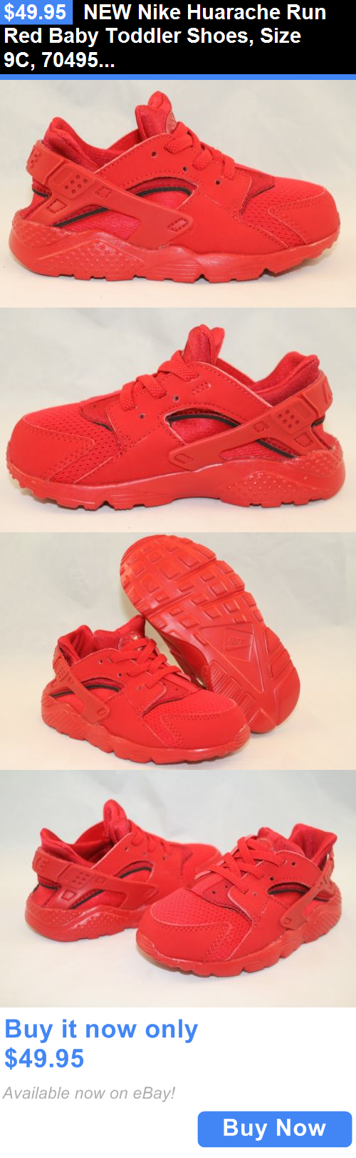 81a449df6e Infant Shoes: New Nike Huarache Run Red Baby Toddler Shoes, Size 9C, 704950- 600 BUY IT NOW ONLY: $49.95