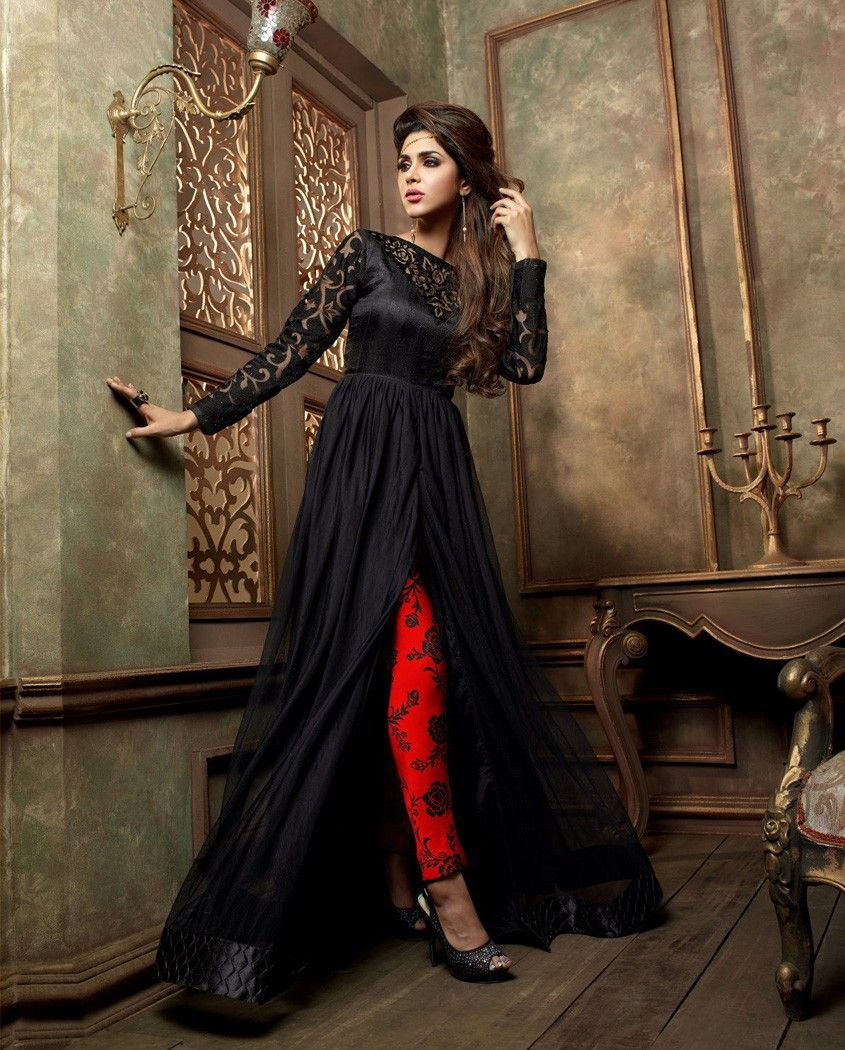 Shalwar kameez black salwar eid pakistani designer stitched sari abaya suit